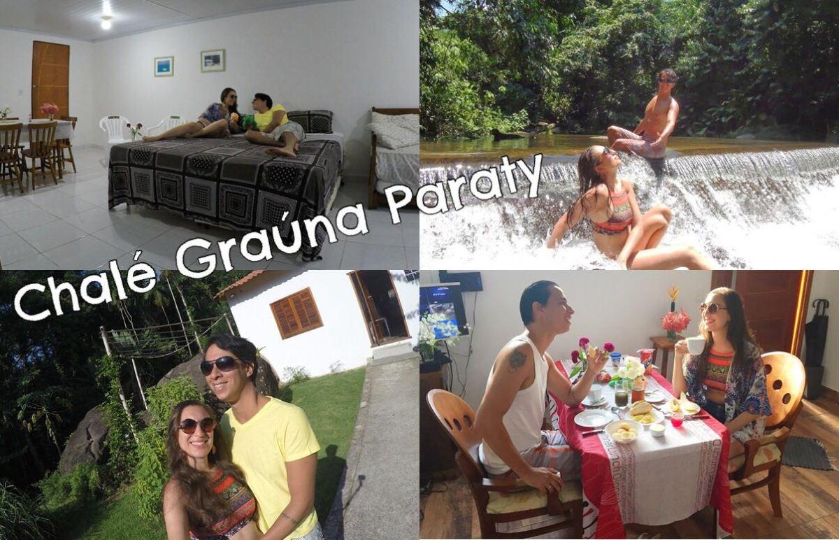 Paraty: muito amor e contato com a natureza no Chalé Graúna